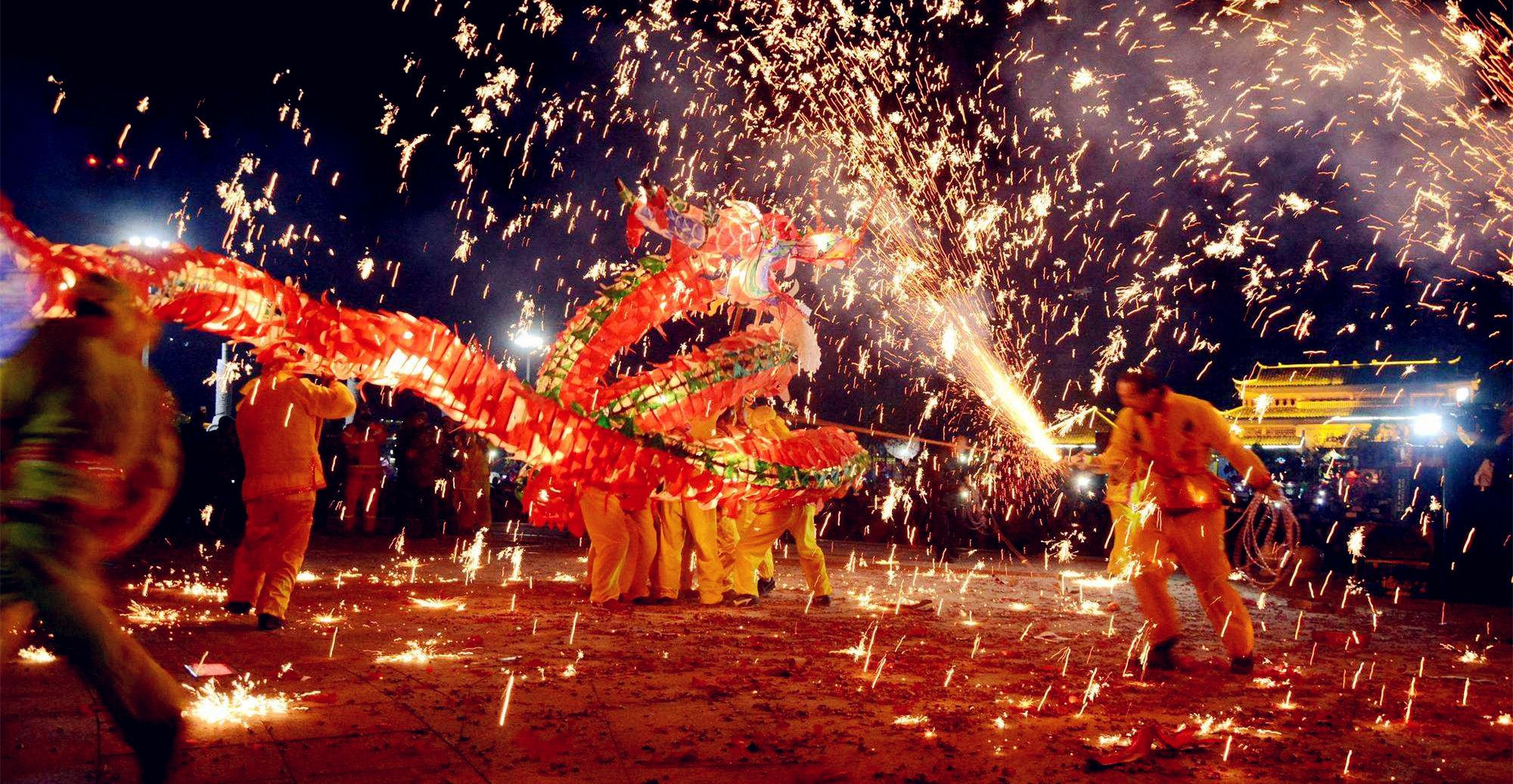 Chinese New Year Dragon Dance - cchatty